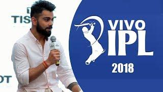 Virat Kohli TALKS On IPL 2018 | Batting Strategy, Planning And More...