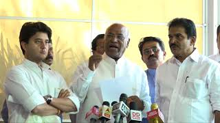 LoP, LS, Mallikarjun Kharge on Parliament proceedings being stalled for the 7th consecutive day