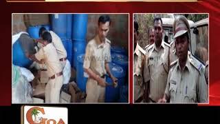 Excise Dept Raids Illegal Liquor Godown in Advoi Sattari, Seizes Liquor Worth Rs 5 Lakh