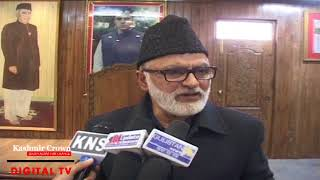 Video | PDP's declaration that Kashmir not a political issue shocking, shameful: NC