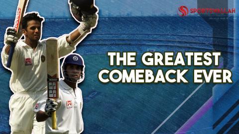 VVS Laxman and Rahul Dravid turn the tables against Australia