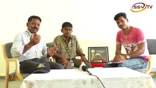 "SSVTV SPECIAL SHOW ""SUPER LITTLE CHAMPION"" WITH  ANCHOR SIDDARTH"