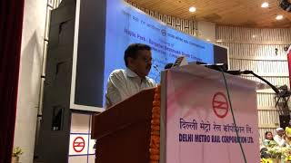 Delhi CM Arvind Kejriwal inaugurated section of Pink line of Delhi metro