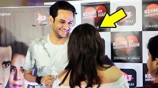 Vikas gupta And Ekta Kapoor At Kehne Ko Humsafar Hain Special Screening | ALT Balaji