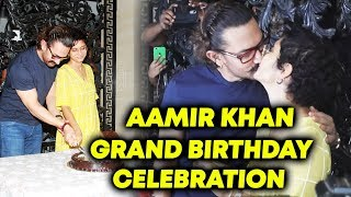 Aamir Khan's 53rd Birthday | GRAND Celebration With Wife Kiran Rao