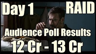 Raid Movie Box Office Collection Day 1 I Audience Poll Results