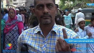 Specially abled people gave message for voting