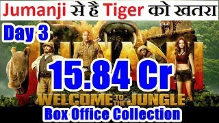 Jumanji Welcome To The Jungle Collection Day 3 I Giving Tough Fight To Tiger Zinda Hai