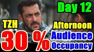 Tiger Zinda Hai Audience Occupancy Day 12 l Afternoon