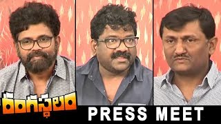 Rangasthalam Movie Press Meet | Ram Charan | Samantha | Sukumar