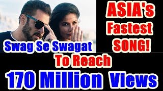 Swag Se Swagat Becomes Asia's Fastest Song To Cross 170 Million Views!