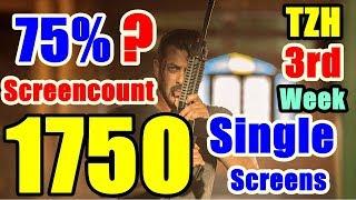 Tiger Zinda Hai Gets 1750 Single Screens In Third Week!
