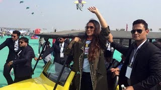Rani Mukherjee present in international kite festival