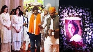 Boney Kapoor Attends A PRAYER MEET Held For Sridevi In Mumbai