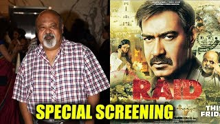 RAID Villian Saurabh Shukla At RAID Special Screening