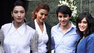 Newlywed Gautam Rode And Pankhuri, Gauahar Khan, Nigaar Khan At Gauahargeous Brand Launch