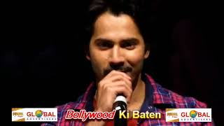 Varun Dhawan And Banita Sandhu Visit Sofia College For Promotion Of Movie October