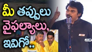 Pawan Kalyan about TDP Party Mistakes and Failures | JanaSena Party Latest News | Top Telugu TV
