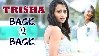 Trisha Non-Stop Back To Back Scenes - Latest Telugu Movie Scenes - Bhavani HD Movies