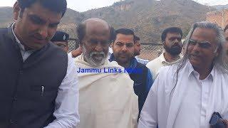 Tamil superstar Rajinikanth visits Shiv Khori
