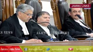 Chief Justice gets full court reference on his farewell from JK High Court