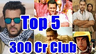 Top 5 Bollywood Movies In 300 Crores Club