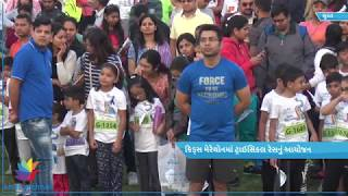 Kids Marathon organised by Little Millennium in Surat
