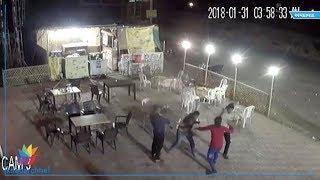ahmedabad police beat hotel staff