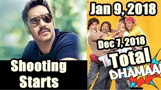 Ajay Devgn's Total Dhamaal Shooting Starts From January 9, 2018