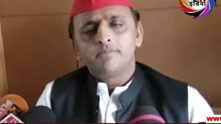 गुजरात की जनता सीडी से ज्यादा जीएसटी  हैं परेशान- अखिलेश यादव