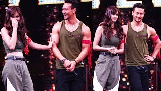 Tiger Shroff & Disha Patani BAAGHI 2 Promotion On Dance Reality Show