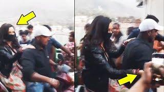 Shraddha Kapoor GREETS Her Little Fan On The Sets Of Batti Gul Meter Chalu
