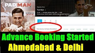 Padman Advance Booking Started In Delhi And Ahmedabad