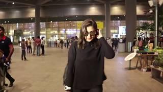 PARINEETI CHOPRA spotted in Casual Airport Look