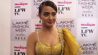 SURVEEN CHAWLA interview at LFW2018