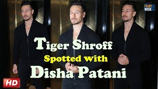 Tiger Shroff Spotted in Bandra!!
