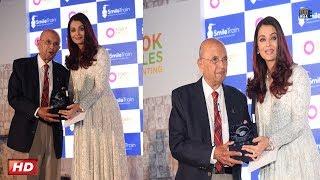 Aishwarya Rai Bachchan talks her heart out at SMILE TRAIN INDIA