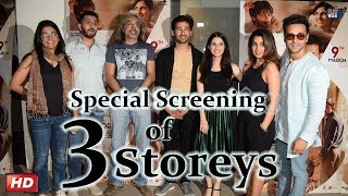 3 Storeys Special Screening : PULKIT SAMRAT, KRITI KHARBANDA & more