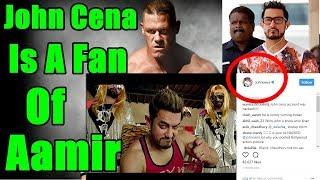 WWE Wrestler John Cena Is A Big Fan Of Aamir Khan!