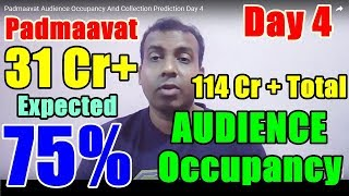 Padmaavat Audience Occupancy And Collection