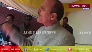 Abdul Haq Continued Public Outreach program in Kupwara