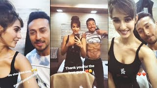 Tiger Shroff And Disha Patani Singing MUNDIYAN From BAAGHI 2