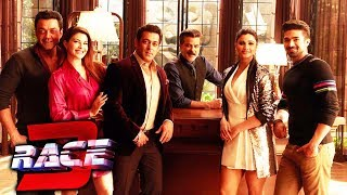 RACE 3 Cast Together In Abu Dhabi - Salman, Anil Kapoor, Jacqueline, Bobby, Daisy, Saqib Saleem