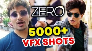 ZERO Exclusvie Update - Shahrukh Khan's ZERO Has 5000+ VFX Shots