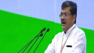 Mukul Wasnik speech at the Congress Plenary 2018