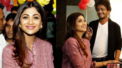 Shilpa Shetty Inaugurates Ajay Shelar Makeup Academy