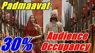 Padmaavat Audience Occupancy Day 5 Morning Shows