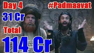Padmaavat Box Office Collection Day 4 I Will Cross