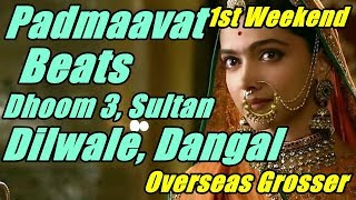 Padmaavat Beats Dhoom 3, Sultan, Dilwale And