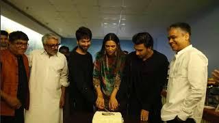 Deepika Padukone Along With Padmaavat Team